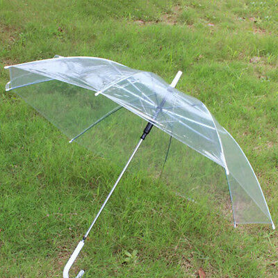 Transparent Clear Rain Umbrella Parasol PVC Dome Stylish durable Wedding New