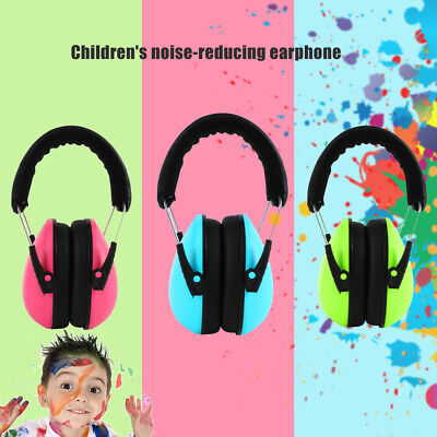new Kid Ear Muffs Earmuffs Hearing Protection Noise Canceling Range Ear Safty