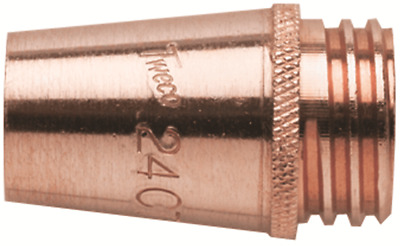 Tweco MIG TORCH NOZZLE 16mm Fixed, For Heavy Welding, Threaded Connection