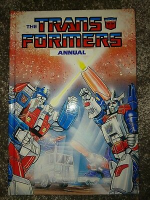 Transformers Annual 1988 Hardcover Issue #3 Top Condition Marvel Comics