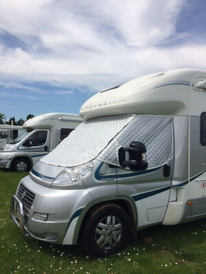 Thermal Insulated Motorhome Screens Fiat Citreon & Peugeot 2006 On