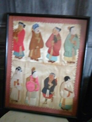 Antique Chinese's Paper Artwork