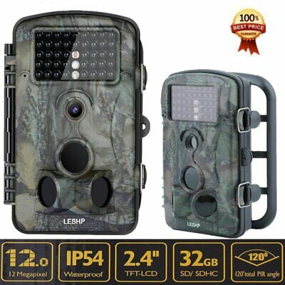 New 12MP 1080P RD1000 Scouting Stealth Trail Cam Deer Security Hunting Camera MX