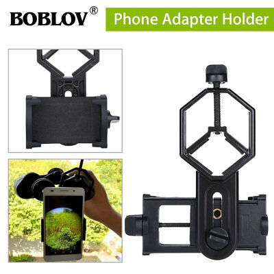 Universal Spotting Scope monocular binocular Telescope SmartPhone Holder Adapter