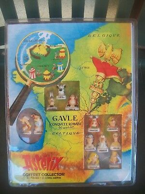 Coffret 12 Feves.... 2 Hors Serie Asterix Gaule Conquete Romaine Collector  2017