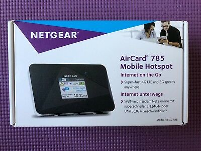 NETGEAR AirCard 785S Mobile Hotspot with Super Fast 4G LTE & 3G anywhere NEW