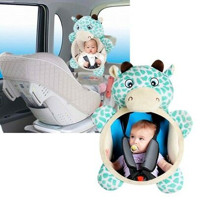 Baby Child Wide View Rear Seat Car Safety Back Mirror Headrest Mount Adjustable