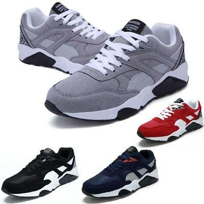 Mens Air Shock Absorbing Running Walking Trainers Jogging Gym Pumps Shoes Size