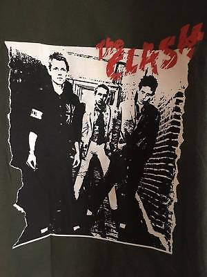 Vintage The Clash Shirt Excellent Small Ramones Damned Sex Pistols Smiths Nirvan