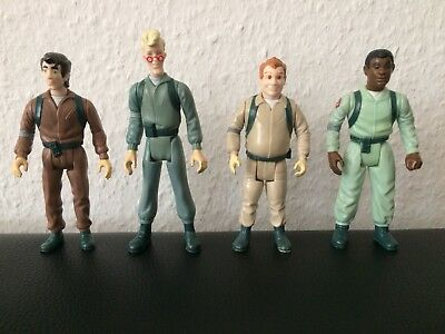 The Real Ghostbusters - Kenner  1986 Winston, Egon, Ray, Peter