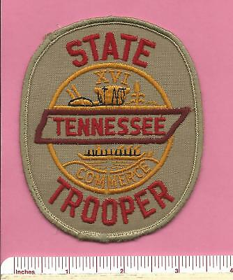 Tennessee TN State Highway Patrol Trooper Law Enforcement Police Shoulder Patch
