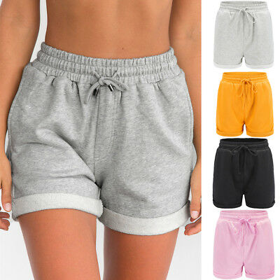 New Women Summer Casual Beach Shorts Plus Size Ladies Sports Shorts Hot Pants EW