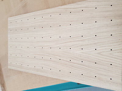 Birch Plywood Standard and Bespoke Pegboards / Peg Boards / Peg Base Cut to Size