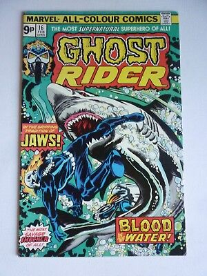 Ghost Rider 16 1976 Marvel Comics Bronze Age