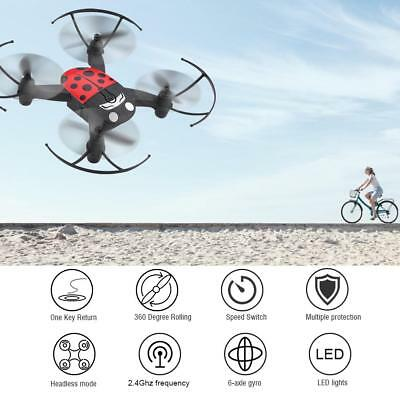Mini RC Quadcopter UFO 2.4GHz 4CH 6-Axis GYRO Nano Helicopter Drone Kit Toy Gift