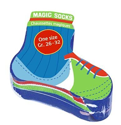 Magic Socks calcio di Spiegelburg Blu verde (C1C)