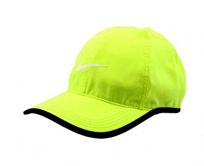 timeless design a1543 9b55e NIKE Featherlight Aerobill Cap Hat Adult Unisex Yellow Volt 679421-702 NEW