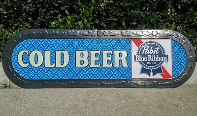 """PABST BLUE RIBBON Beer Sign New PBR 60"""" wide"""