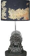 Game of Thrones Iron Throne and Table Map Lamp HBO Sold Out New