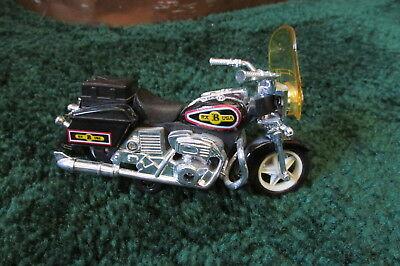 """Model Motorcycle miniature with label """"USA B RX"""" year unknown"""