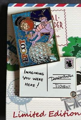 Disney World Passholder exclusive Figment and Dreamfinder LE retired  pin
