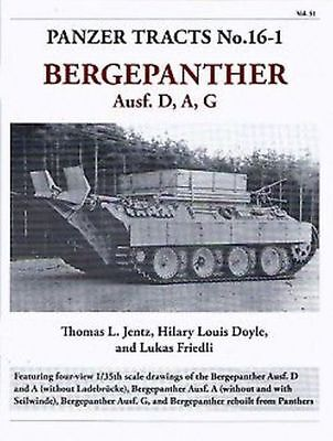 Panzer Tracts No.16-1-Bergepanther