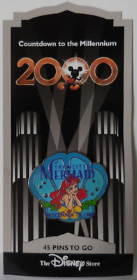 Disney Pin DS Countdown to the Millennium Series #46 The Little Mermaid / Ariel
