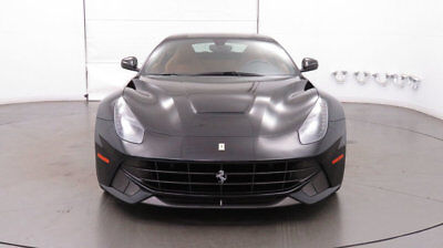 Ferrari F12berlinetta 2dr Coupe 2016 Ferrari F12 Berlinetta - One Owner, Low Miles, classic Black over Cuoio