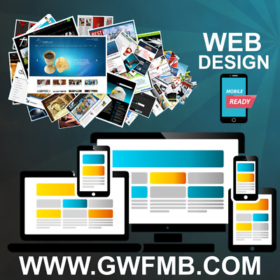 Website design services FREE .COM OR .CO.UK with business email / Full Package