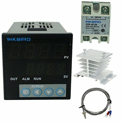 Inkbird °F and °C Display PID Stable Temperature Controller ITC-106VH (ITC-10...