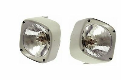 HEAD LIGHT LAMP WITH COWL PAIR RH & LH Massey Tractor 135 165 185 265 275 585