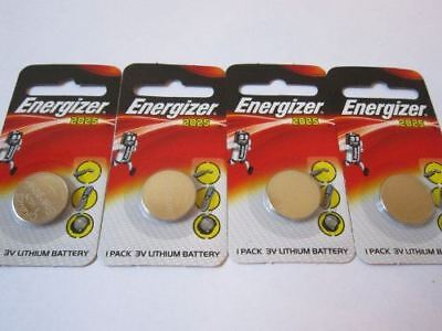 4 pcs 2025 CR2025 ECR2025 3V Lithium Energizer Coin / Button Cell Battery Batter