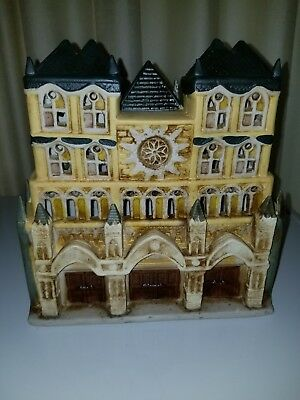 Vintage Dickens Collectible Lighted Cathedral Christmas Village Church