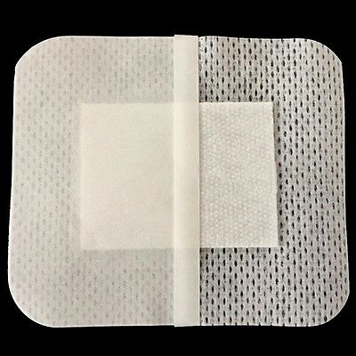 10PCs 6cmX7cm Non-woven Medical Adhesive Wound Dressing Large Band aid Bandage!