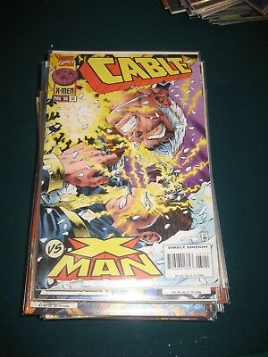 Marvel Comics Cable!  Huge lot!  Issues 31-63!