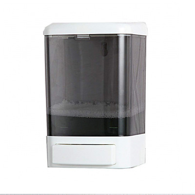 Manual Soap Dispenser Plastic Wall Mounted Shampoo Conditioner Shower Gel