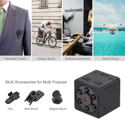 HOT Mini Hidden Spy Camera,1080P Sports HD with Night Vision & Motion Detection