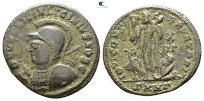 Savoca Coins Licinius II Caesar Follis Jupiter Eagle 3,12 g / 20 mm @PLV16070
