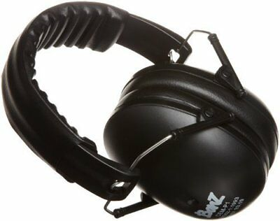 Baby Banz Hearing Protection Size 2-10 Years Ear Protect Black Sensitive Noise
