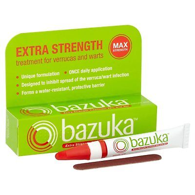 Bazuka Extra Strength Treatment Gel 6G - Suitable For Adult/Elderly/Children