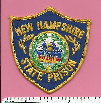 Old NH New Hampshire State Prison DOC Corrections Law Enf Police Shoulder Patch
