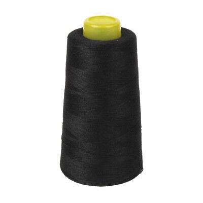 Cotton Sewing Thread for Sewing Machine 40S / 2 Unbleached (Black) F1T1 vf