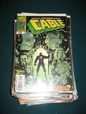 Marvel Comics Cable!  Huge lot #2!  Issues 64-107!