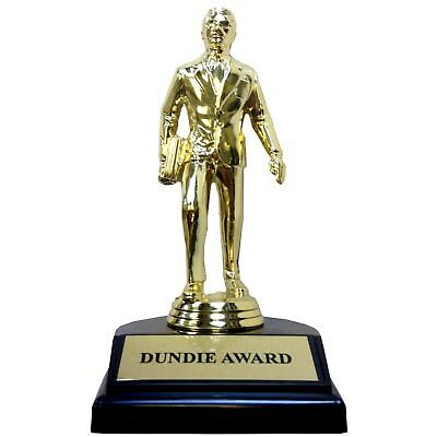 Dundie Award Trophy The Office TV Show Michael Scott Dundee Dunder Mifflin Gift