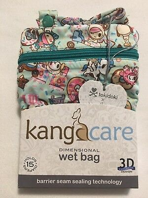 NWT Tokidoki x KangaCare Wet Bag (TokiTreats) Kanga Care Toki Treats