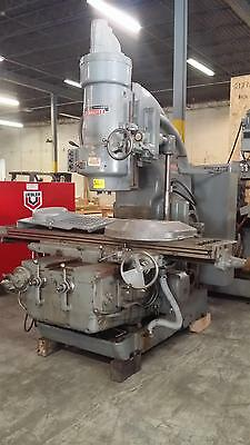 "Kearney and Trecker 450TF-20 Manual Vertical Mill Milling Machine  42""x18"" 50hp"