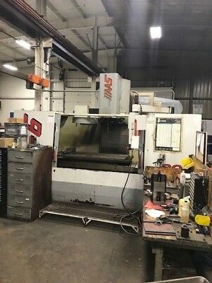 Used VF-6 40 Taper CNC Vertical Machining Center Mill 4th Ready Gear Box Chip 98