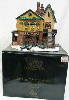 """Department Dept 56 Dickens Village""""The Grapes Inn"""" #57534 5th Edition, 1996"""