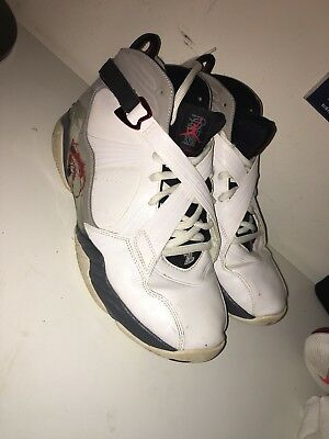 66d5629fc959da Air Jordan 8 Retro VIII Alternate Collection White Red Men Aj8 Size 10.5  VNDS