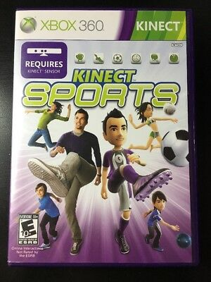 Kinect Sports (Microsoft Xbox 360, 2010) KINECT REQUIRED